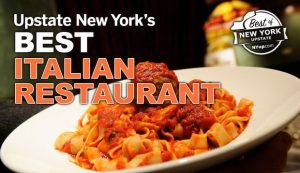 Voted No. 2 Upstate NY's BEST Italian Restaurant by www.nyup.com